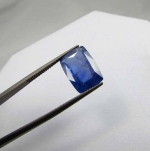 Natural Ceylon Blue Sapphire Git Certified 7.29ct{8.10 Ratti}unheated