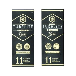 Tubelite Gold Cream - Glowing Youthful Skin (30gm) - Pack Of 2 (at-gold-30-2)