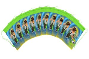 BEN 10 ROPE BAG COMBO-50 (Pack Of  10 Pcs) By STICKER BAZAAR