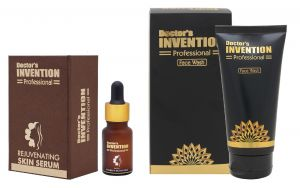 Doctors Invention Professional Skin Serum (10ml) And Face Wash (125ml) Combo (code - Dip-ss_fw)