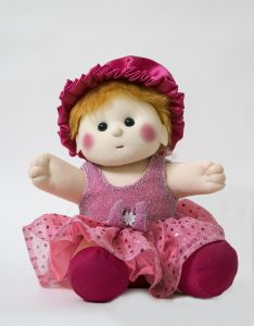 Baby Doll Girl Chamki Pink Color By Lovely Toys (code- Ltdp_01)
