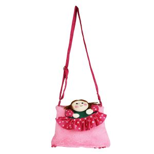 School Bags - Sweety Sling Bag - Baby Pink  By Lovely Toys (Code -SB02)