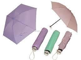 Ultimate Zipper Covered 3 Fold Umbrella Unisex Compact Size Easy To Carry H