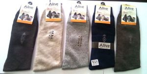 5 Pair Mens Plain Cotton Socks