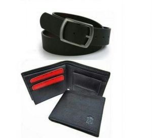 Executive Combo For Men Wallet With Belt