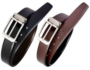 Men's Accessories - Ksr Etrade Reversible Leather Belt