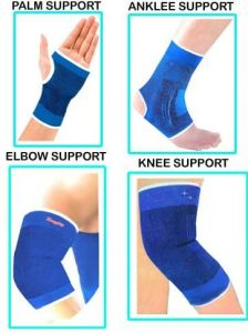 Home medical supplies - Palm Support & Ankle & Elbow With Knee Support