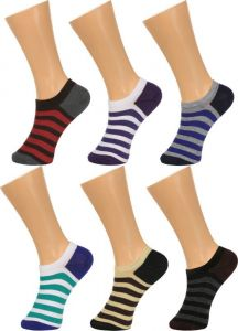 Socks & stockings - Grabberry Printed Assorted Design Cotton 6 Pairs Pack Socks For Women - Awc0916grb011_d1_d2_c6