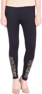 Women Party Wear, Ladies Legging Black