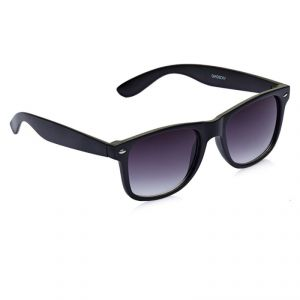 Vicbono Black Wayfarer Sunglasses For Men-(code-vbsg-017)