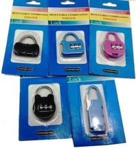 Furnishings (Misc) - Resettable Travel Pad Lock Combination Padlock 02