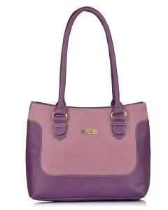 Fostelo Women's Uptown Girl Grey Handbag (Code - FSB-1107)