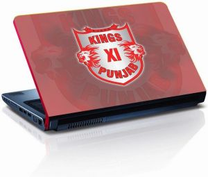 Kings XI Punjab Cricket Laptop Skin - LP0422