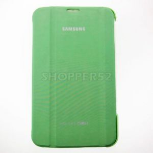 Leather Case Book Cover For Samsung Galaxy Tab 3 7.0 T210 P3200-green