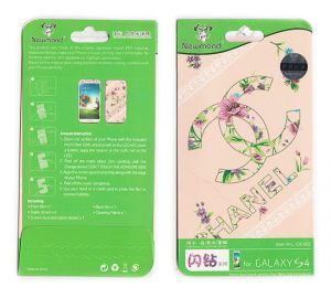 Samsung Screen Protectors - Designer Front and Back Screen Protector For Samsung Galaxy S4 i9005 SRC420