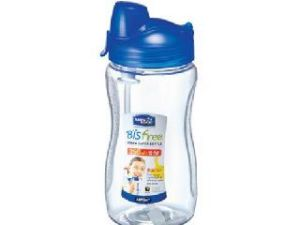 Lock&lock Bisfree Sports Water Bottle Tritan With Straw, 350ml