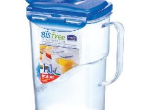 Lock&lock Bisfree Aqua Round Bottle, 1.1 Litres