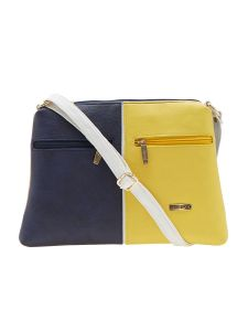 ESBEDA Dark Blue Color Solid Pu Synthetic Material Slingbag For Women-1901
