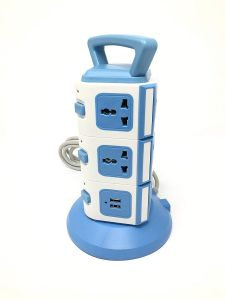 Cellphonez 11 EU Outlets And 2 Ports 2.1A USB Smart Power Sockets