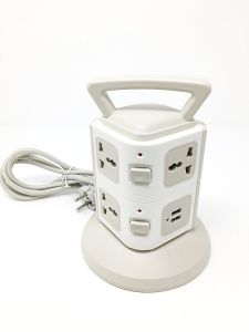 Cellphonez  7 Outlets And 2 Ports 2.1A USB Smart Power Sockets