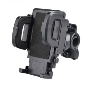 "Bike Bicycle Mobile Cell Phone Holder Mount Bracket Universal For All Phones Upto 5.5""."
