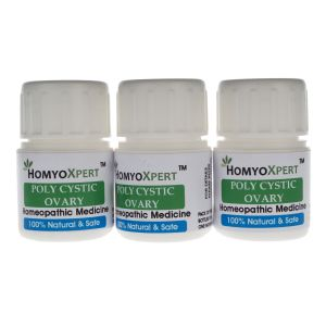 Homyoxpert Polycystic Ovary Syndrome (pcos) Homeopathic Medicine For One Month
