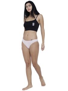 triveni,la intimo,the jewelbox,cloe,pick pocket,soie,kiara,Hotnsweet,Lime,N gal,Lew Apparels & Accessories - Red Basiics By La Intimo Women's Naughty Brief Panty - ( Code -BCPBR02RQ0 )