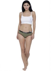 triveni,jpearls,sleeping story,diya,jharjhar,ag,la intimo,V. Apparels & Accessories - Olive Basiics By La Intimo Women's Picante Spicy Hipster Panty - ( Code -BCPHP01OV0 )