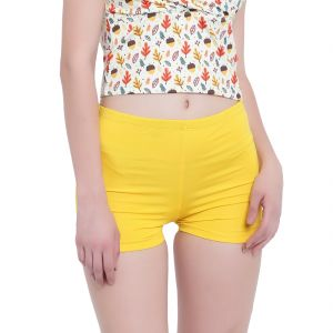 triveni,la intimo,cloe,surat tex,soie,gili,kiara,kaamastra,Lew,N gal Apparels & Accessories - Multi (Digital Prints) La Intimo Fash Melange Shorts Resort/Beach Wear - ( Code -LIFPY012ZG0_XS) XS, Multi (Digital Prints)