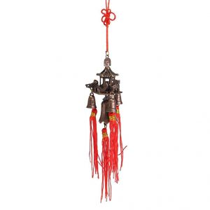 Fengshui Pagoda Temple Buddha Bell Car & Home Hanging For Good Luck