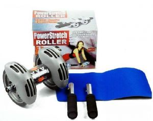 Fitness Accessories - Power Stretch Wheel Roller For Fitness Slim Body - Prstrl