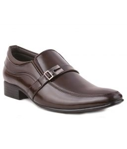 Formal Shoes (Men's) - Guava Party Formal Shoes - Brown-GV15JA188