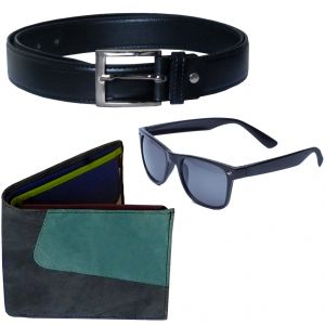Sondagar Arts Latest  Belt Wallet Glares Combo Offers For Men