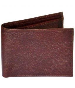 Sondagar Arts Brown Leather Mens Wallet