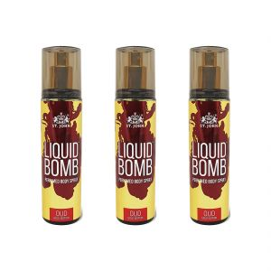 Deo Gold Edition OUD 150ml Pack Of 3