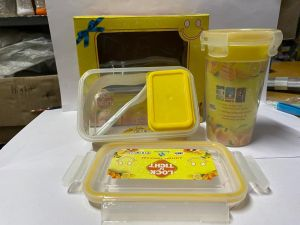 Lunch Box- Plastic Lunch Box Container