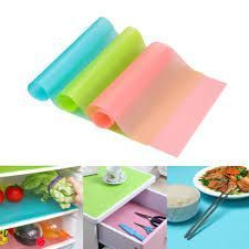 Multifunction Refrigerator Pad Mat Fridge Anti-fouling Anti Frost Waterproof Pad Kitchen Table Eat Mats