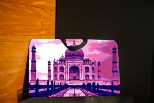 Laptop Accessories (Misc) - 10 am Taj Lap pad (Pink) ( LPT1 )