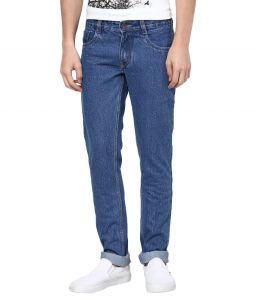 "Masterly Weft Blue Cotton Blend Regular Men""s Jeans (product Code - D-jen--3c)"