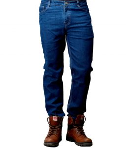 "Jeans (Men's) - Masterly Weft Blue Cotton Blend Regular Men""s Jeans (Product Code - D-JEN--4J)"