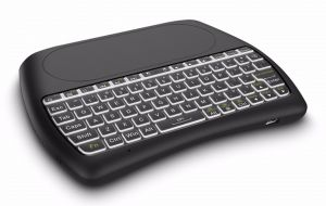 D8 Mini Keyboard & Touchpad 2.4g Wireless Backlight Air Mouse Work For Android Windows Mac OS Linux For TV Box