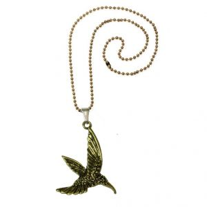 Men Style 2016 New Fashion Flying Eagle Pendant Gold Zinc Alloy Bird Pendant For Men And Women (Product Code - SPn08057)