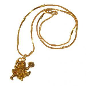 Men Style Loard Hanuman SPn09068 Gold Alloy Bajiranbali Pendant For Men And  Women (Product Code - SPn09068)