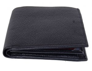 Pe Mens New Arificial Black Pu Leather Wallet