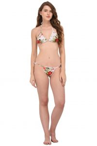 Bikinis - You Forever Women's Lingeire Set (Code - YFPRBKS-RED)