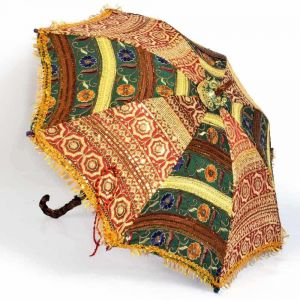 Vivan Creation Colorful Design Rajasthani Umbrella Handicraft 216
