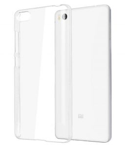 on sale 32254 0f3d4 Snoby Silicon Back Cover for Xiaomi Mi5 (Transparent) (SETM_23)