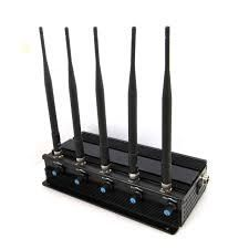 Cellular Phone Jammer 5 Antenna-spy Universe