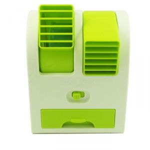 Mini Fragrance Air Conditioner Cooling Fan Green