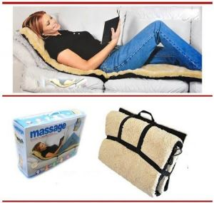 Body Massagers - 9 Motor Massage Mat Backseat Relief Relaxed